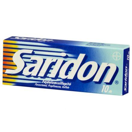 SARIDON tabletta 10 db