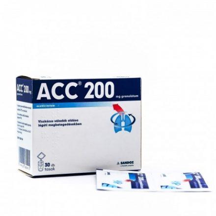 ACC 200 mg granulátum 30 db