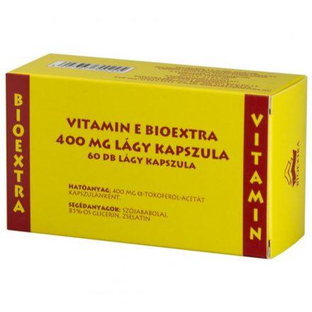 BIOEXTRA VITAMIN E 400 mg lágy kapszula 60 db