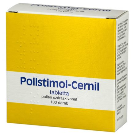 POLLSTIMOL-CERNIL tabletta 100 db
