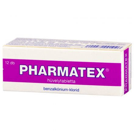 PHARMATEX hüvelytabletta 12 db