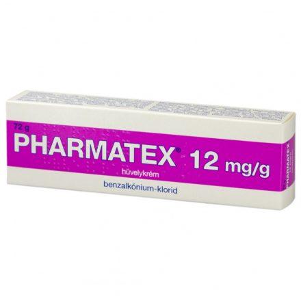 PHARMATEX 12 mg/g hüvelykrém 72 g