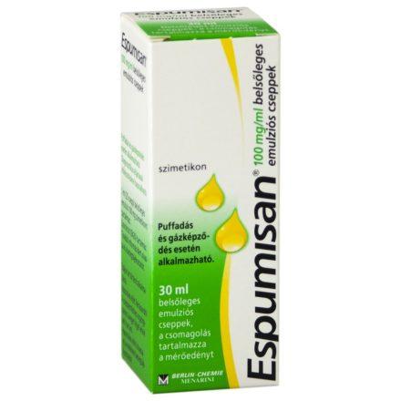 ESPUMISAN 40 mg/ml belsőleges emulziós cseppek 30 ml