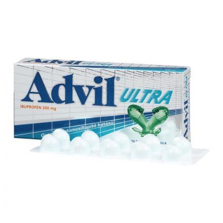 ADVIL ULTRA lágy kapszula 10 db