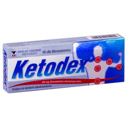 KETODEX 25 mg filmtabletta 10 db