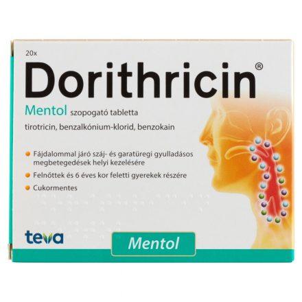 DORITHRICIN szopogató tabletta 20 db