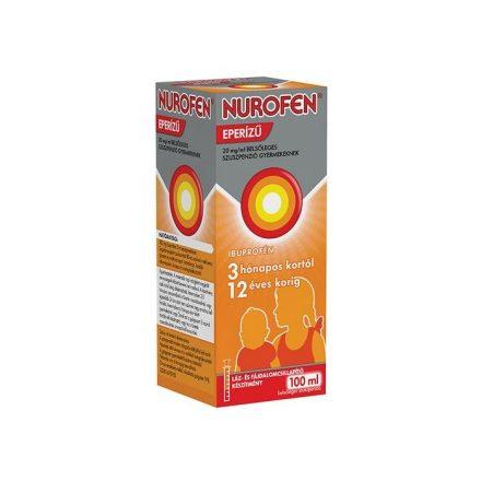 NUROFEN eperízű 20 mg/ml belsőleges szuszpenzió gyermekeknek 100 ml