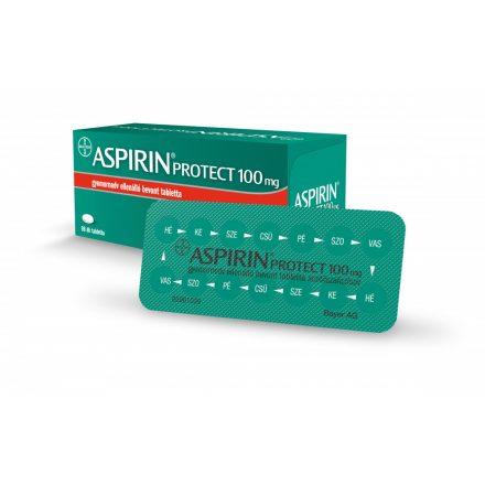 ASPIRIN PROTECT 100 mg gyomornedv-ellenálló bevont tabletta 98 db