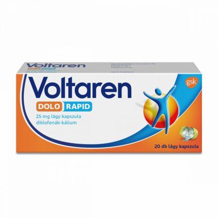 VOLTAREN DOLO 25 mg bevont tabletta 20 db