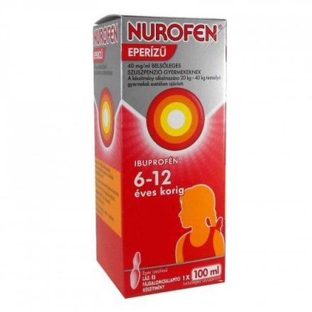 NUROFEN eperízű 40 mg/ml belsőleges szuszpenzió gyermekeknek 100 ml
