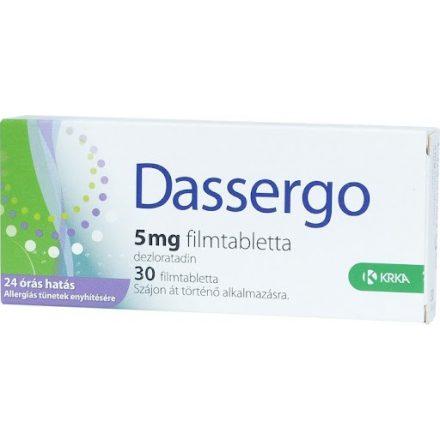 DASSERGO 5 mg filmtabletta 30 DB