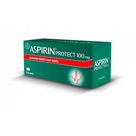 ASPIRIN PROTECT 100 mg gyomornedv-ellenálló bevont tabletta 28 db