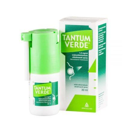 TANTUM VERDE 1,5 mg/ml szájnyálkahártyán alkalmazott spray 1 doboz