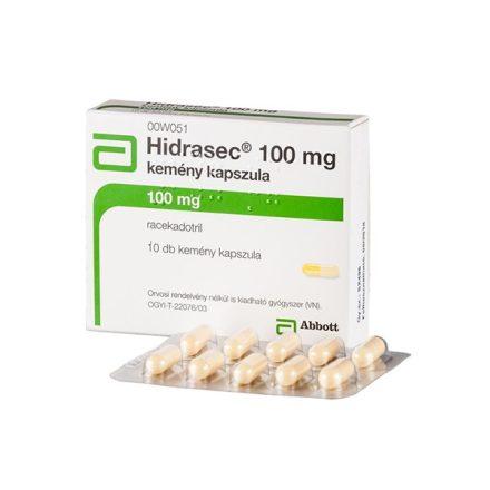 HIDRASEC 100 mg kemény kapszula 10 db
