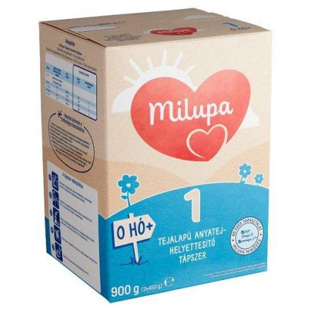 MILUPA 1 tápszer 900 g