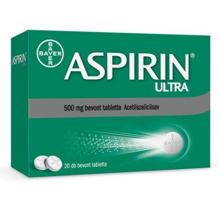 ASPIRIN ULTRA 500 mg bevont tabletta 20 db