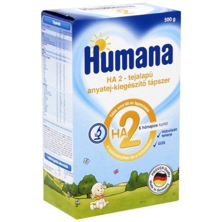 HUMANA HA 2 2x250 g tejalapú kiegészítő tápszer 2 db