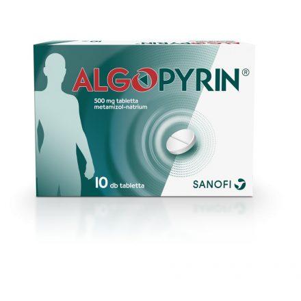 Algopyrin 500mg tabletta 10 db
