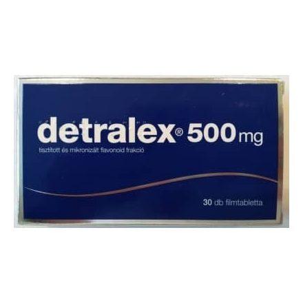 DETRALEX 500 mg filmtabletta 30 db