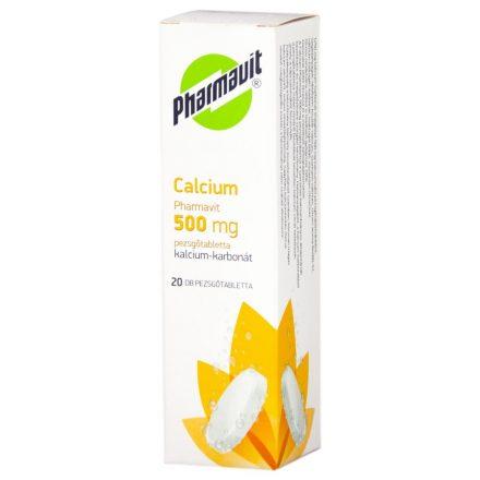 CALCIUM PHARMAVIT 500 mg pezsgőtabletta 20 db
