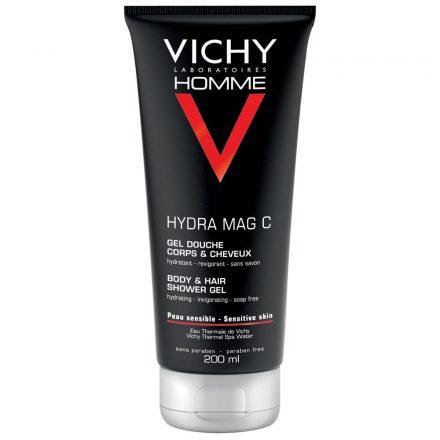 VICHY HYDRA MAG C+ hidratáló-frissítő tusfürdő testre és hajra 200 ml