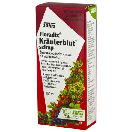 KRAUTERBLUT-S VASHIÁNY ESETÉN szirup 250 ml