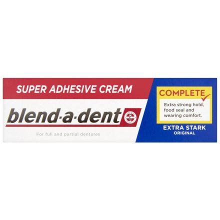 BLEND-A-DENT extra erős műfogsorrögzítő 47 g