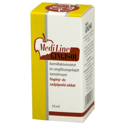 MEDILINE GINGISOL fogínyecsetelő oldat 10 ml