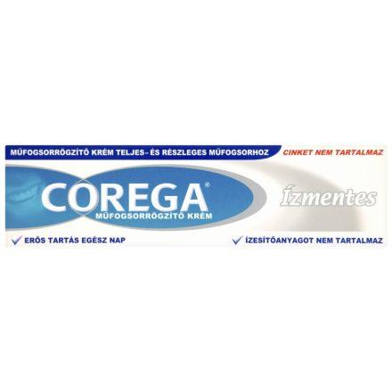 COREGA ÍZMENTES műfogsorrögzítő krém 40 g