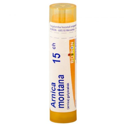 ARNICA MONTANA C15 golyócskák 4 g