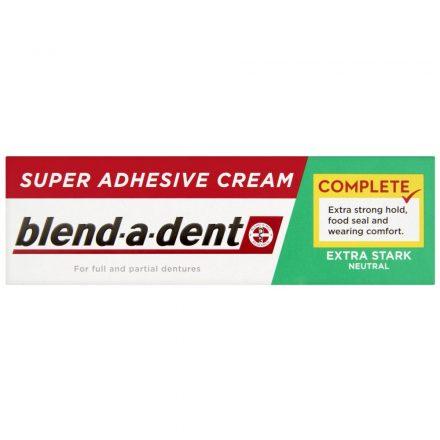 BLEND-A-DENT COMPLETE szuper erős műfogsorrögzítő krém 47 g