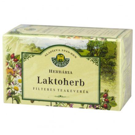 HERBARIA LAKTOHERB TEJSZAPORÍTÓ tea filteres 20 db