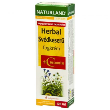 NATURLAND HERBAL SVÉDKESERŰ fogkrém 100 ml