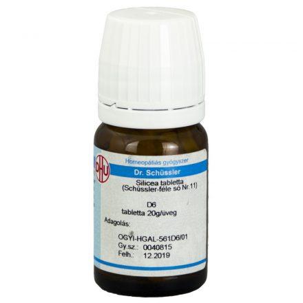 DR. SCHÜSSLER 11. SILICEA D6 tabletta 80 db