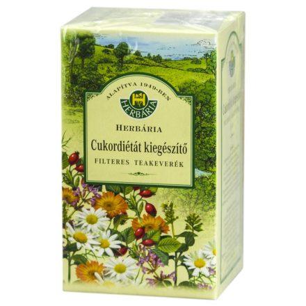 HERBÁRIA CUKORDIÉTÁT kiegészítő tea filteres 20 db