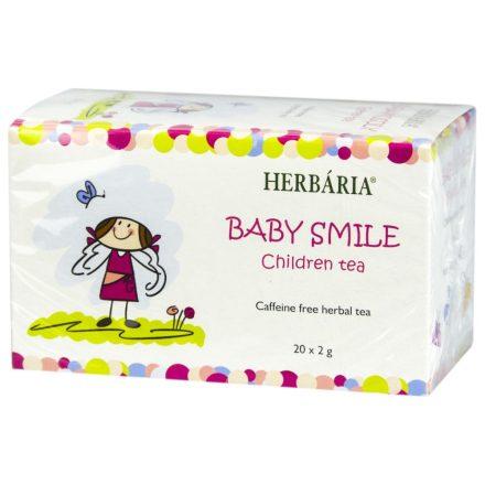 HERBÁRIA BABAMOSOLY gyerek tea filteres 20 db