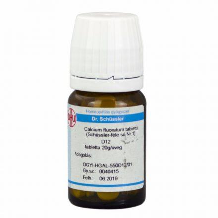DR. SCHÜSSLER 1. CALCIUM FLUORATUM D12 tabletta 80 db