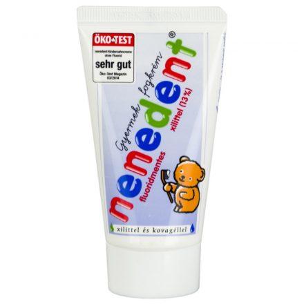 NENEDENT fluoridmentes gyermekfogkrém 50 ml