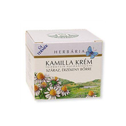 HERBÁRIA KAMILLA KRÉM száraz, érzékeny bőrre 50 ml