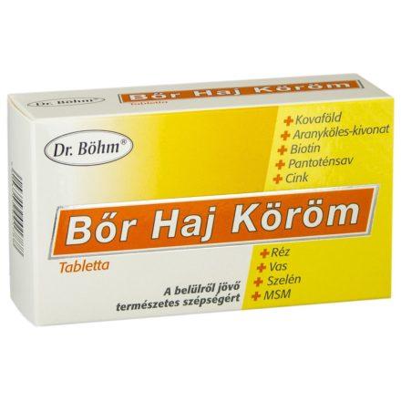 DR. BÖHM HAJ-BŐR-KÖRÖM tabletta 60 db