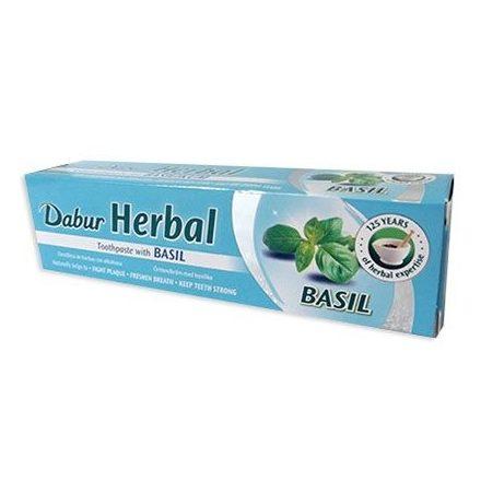 DABUR gyógynövénytartalmú bazsalikomos fogkrém 65 ml