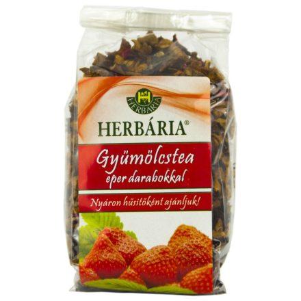 HERBÁRIA GYÜMÖLCSTEA eper darabokkal 120 g
