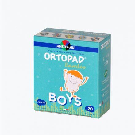 MASTER-AID Ortopad Junior szemtapasz fiú 20 db