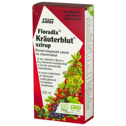 FLORADIX KRAUTERBLUT szirup 500 ml