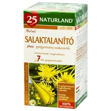 NATURLAND SALAKTALANÍTÓ PLUSZ filteres tea 20 db