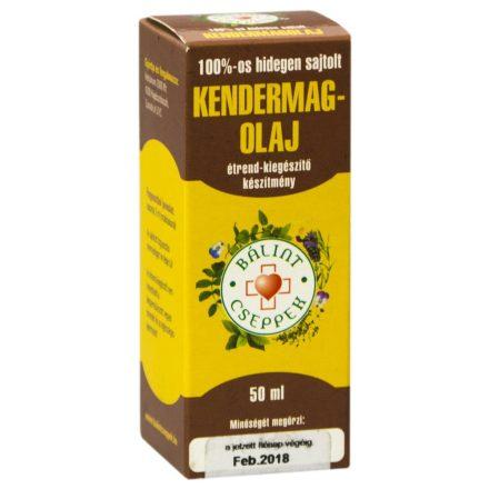 BÁLINT CSEPPEK KENDERMAGOLAJ 50 ml