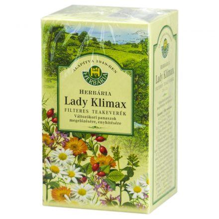 HERBÁRIA LADY KLIMAX tea filteres 20 db