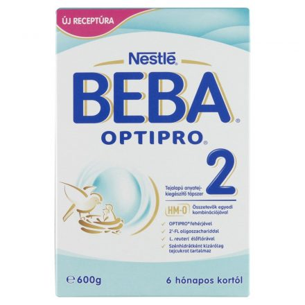 BEBA OPTIPRO 2 tápszer 600 g