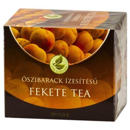 HERBÁRIA FEKETE TEA őszibarack filteres 10 db