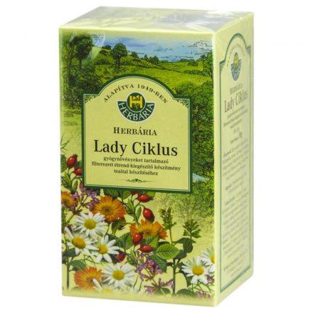HERBÁRIA LADY CIKLUS teakeverék filteres 20 db